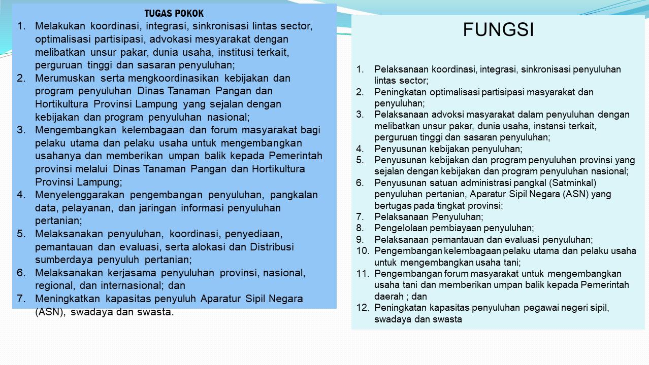 UPTD Penyuluhan Provinsi Lampung